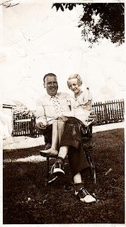 Sitting on Daddy's Lap