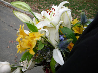 flowers sent by Gerry Cornell's children