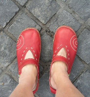 my travelling shoes