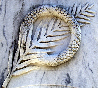 Palm Frond and Wreath