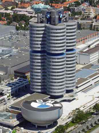 Germany Travel And Tourism Bmw Headquarters
