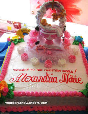 Goldilocks Cake Design For Christening : All about Elizabeth: Cakes, Celebrations and Confessions