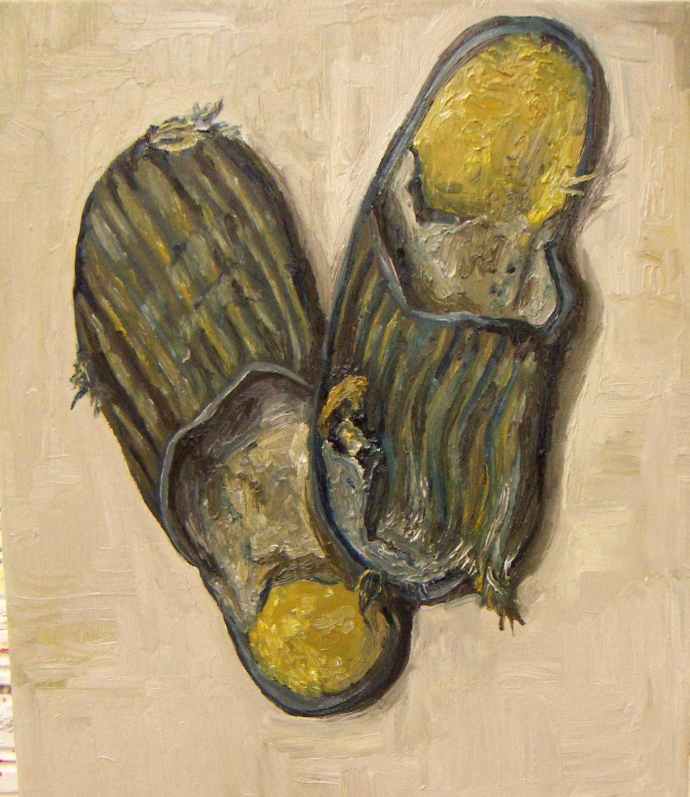 Zapatillas viejas (y rotas)