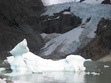 Icebergs on Laguna Piedras Blancas
