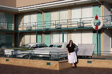 Lena Outside the Lorraine Motel