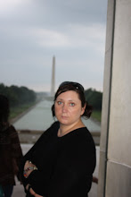 Lena at the Lincoln Memorial