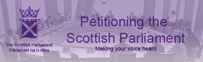 Petitioning the Scottish Parliament: Making your voice heard