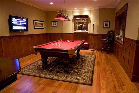 Husker Dream Homes Basement The Man Cave Or Cave Man