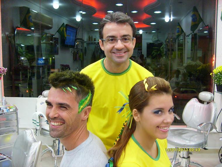 Brasil na cabeça!