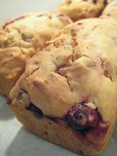 orange cranberry ginger loaf