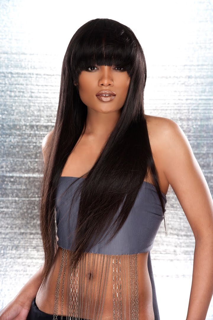 Model Model Straight Hair Prices Triple Weft Hair Extensions