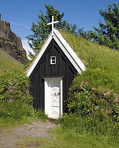 Turf Church at Núpsstaður