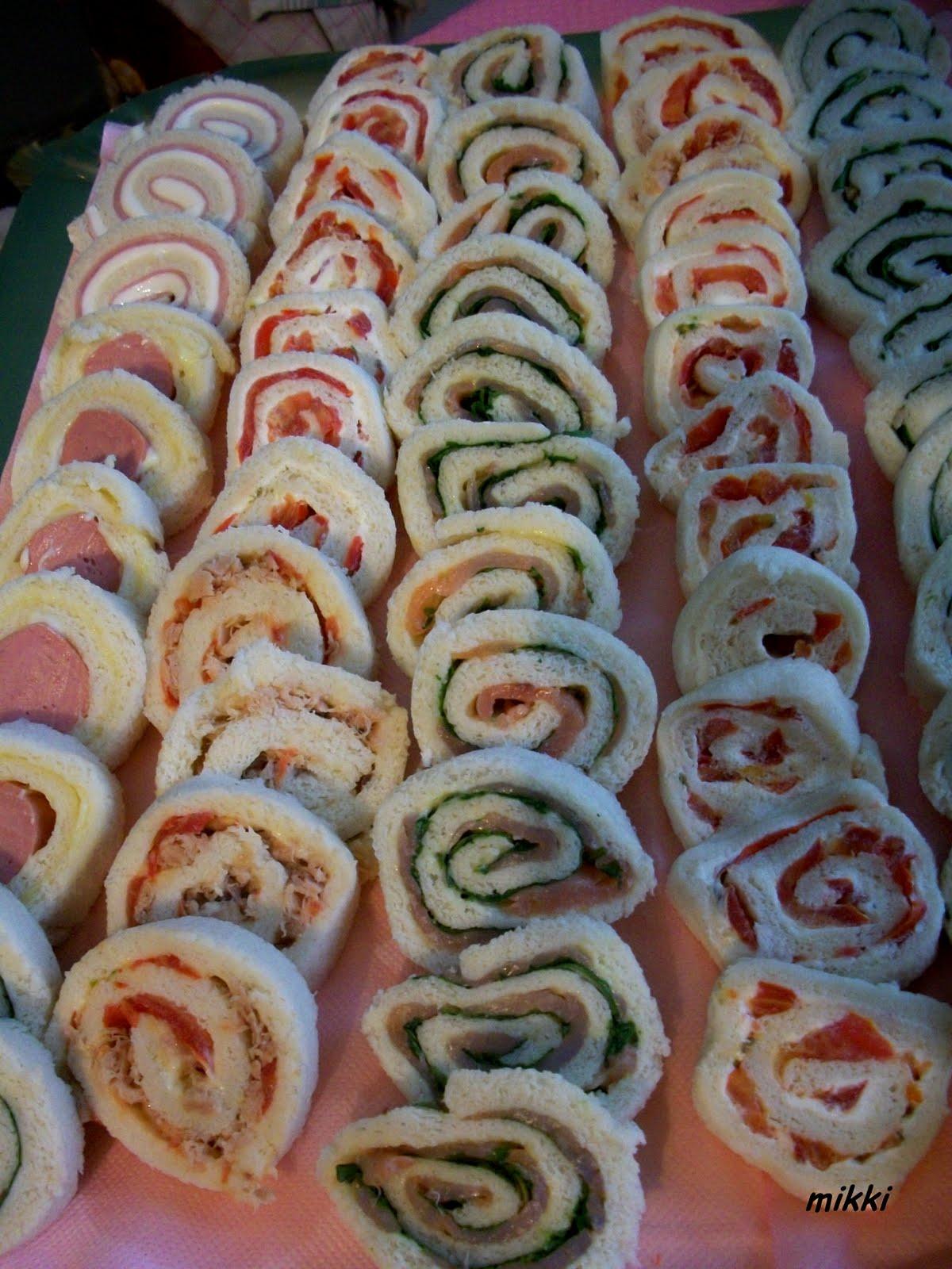 Eccezionale profumi dalla cucina: Buffet compleanno Giorgia KR01