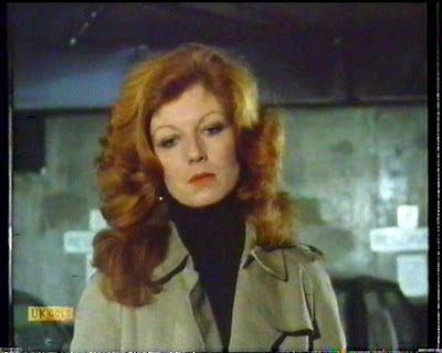 Trenchcoated Rula Lenska Dons A Classic Burberry In An