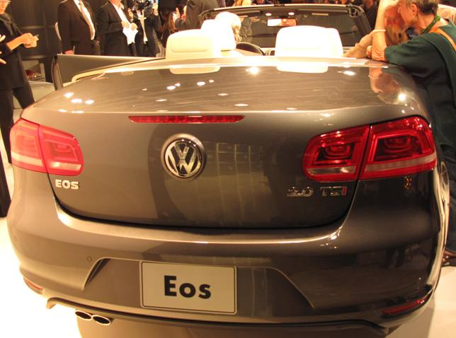 Saxton On Cars Volkswagen Eos Hardtop Convertible Coming In - Eos car show