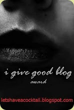 I Give Good Blog Award
