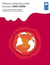 Informe sobre Desarrollo Humano 2007 - 2008