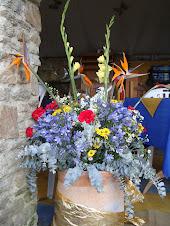 Flores em Galipán.