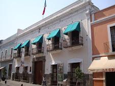 Uma casa em Puebla...