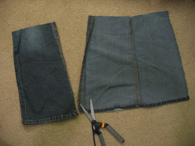 how to turn a skirt into shorts