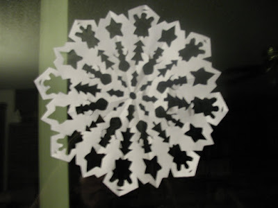 christmas ornament crafts for kids: snowflake
