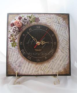 Оформление часов