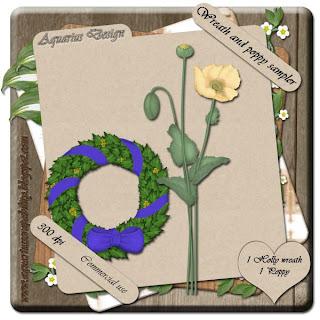 Poppy and Holly Wreath Sampler-Wreath+and+Poppy-AD