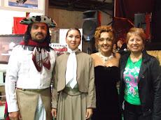 Con amigos Argentinos