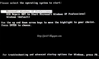 Masalah Start Up Bootable Windows dengan Flash Disk