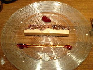 PARIS ORANGE(パリ・オランジュ)のフォアグラと干しイチジクの料理とソース