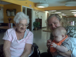 My Nana, Asher and me