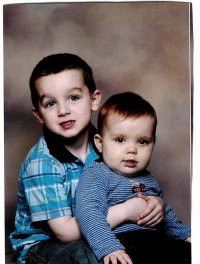 My two oldest grandsons