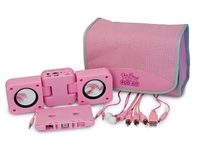 Rosa högtalare Pod Kit