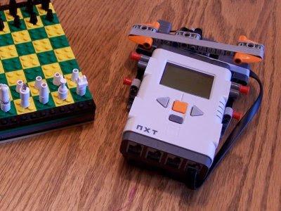 Schackklocka: LEGO