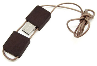 USB-minne: Trä & Läder