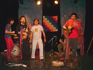 Inti Huayra en concierto
