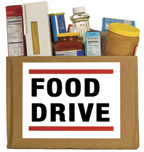 Food bank box for Plymouth food pantry ct