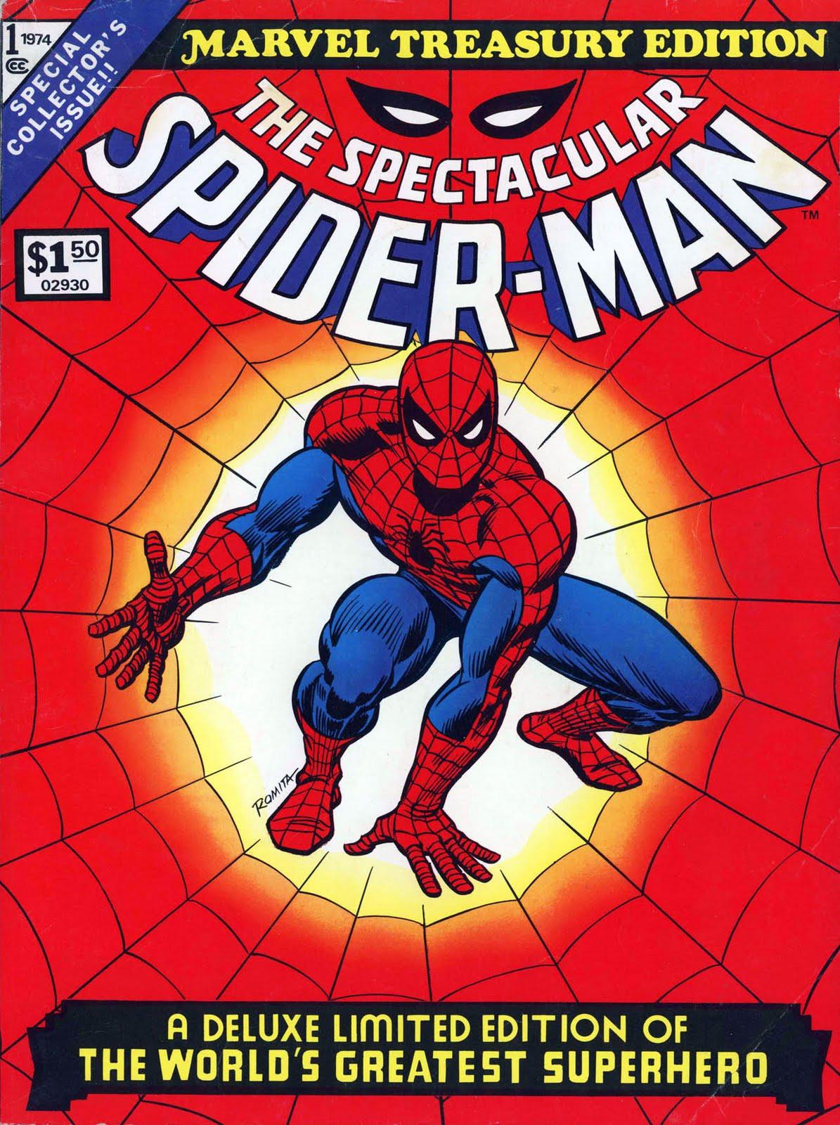 savage tales marvel treasury edition 1 spider man. Black Bedroom Furniture Sets. Home Design Ideas