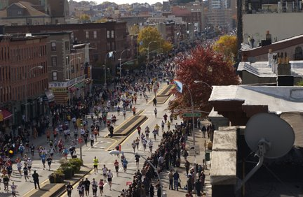 nyc marathon 2008