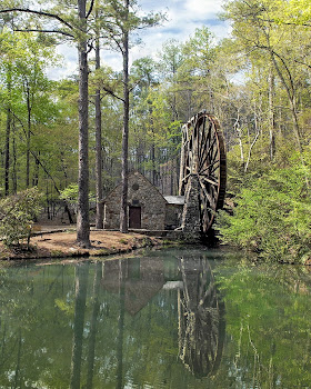 Grist Mill (Largest water wheel in US)