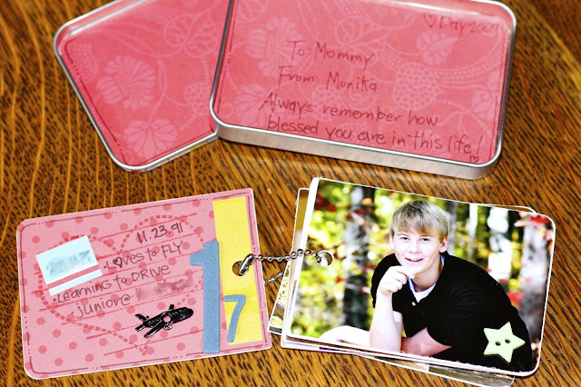 Mini Album in a Tin | iloveitallwithmonikawright.com