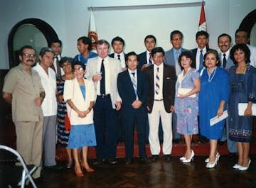 Fundación de la Sociedad Peruana de Radioprotección - Lima, 2 de abril de 1987