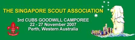 3rd Cub Scouts Goodwill Camporee 2007 (Perth)