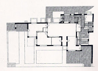 Casa Lange Mies van der Rohe Plano