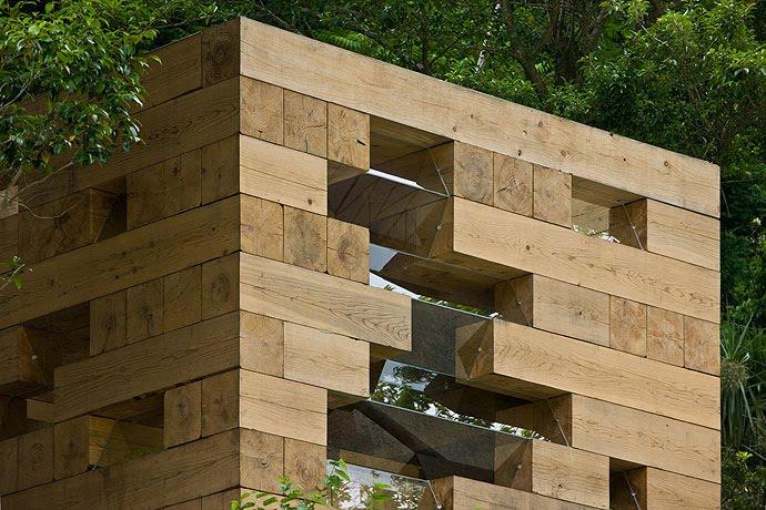 Microarquitectura la casa de madera definitiva de sou fujimoto blog arquitectura y dise o - Wooden cube house plans ...