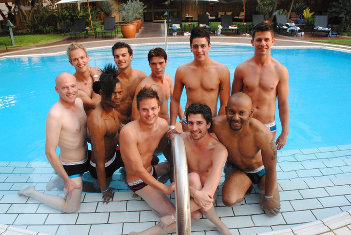 Mr. Gay World is a positive role model and will work on humanising being gay ...
