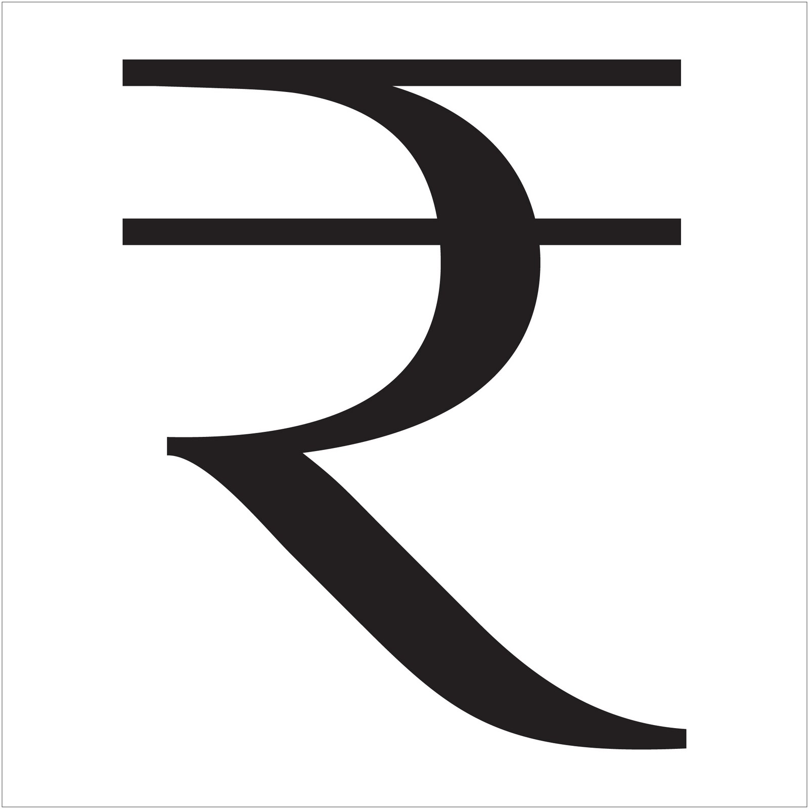 significance of the new rupee symbol By giving its approval for new rupee symbol, india joined a very elite group of the usa, uk, japan and european union to have its own currency symbol the new rupee symbol is a welcome addition to india's influential role on the global stage.
