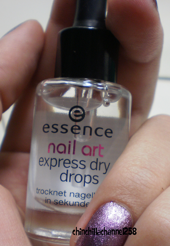 Cookingchinchillas Essence Nail Art Express Dry Drops Review