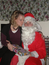 Kissing on Santa