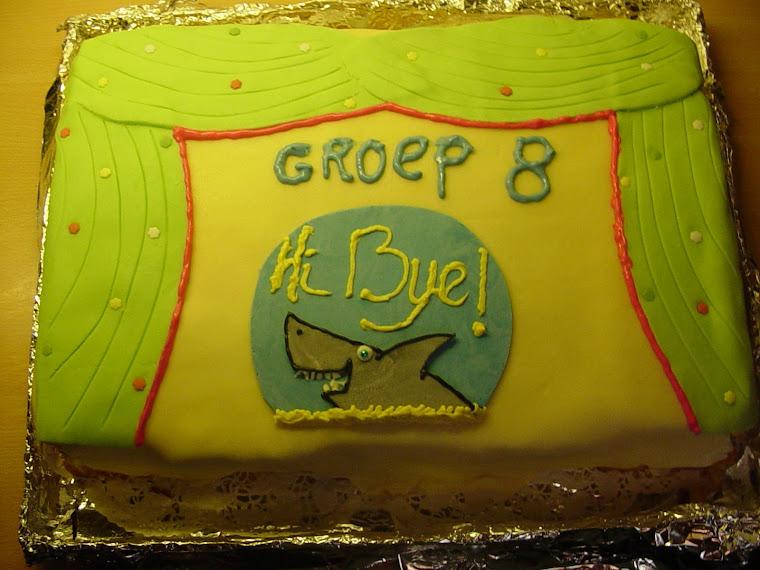 Afscheidsmusical groep 8 Hi Bye !